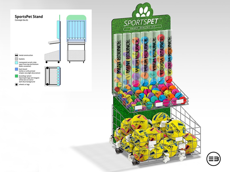 From Concept to Image - Retail Stand retail balls stand photoshop