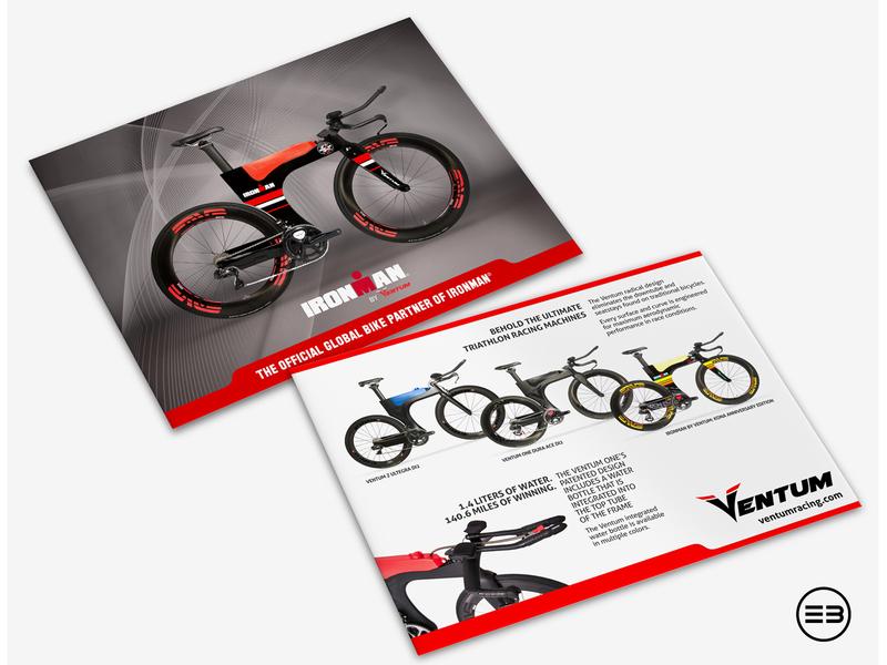flyer for ventum racing ironman triathlon bicycle bike flyer ventum