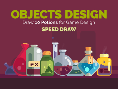 10 potions to game development - Speed Draw