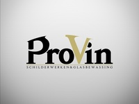 Logo Design ProVin paint & window washing