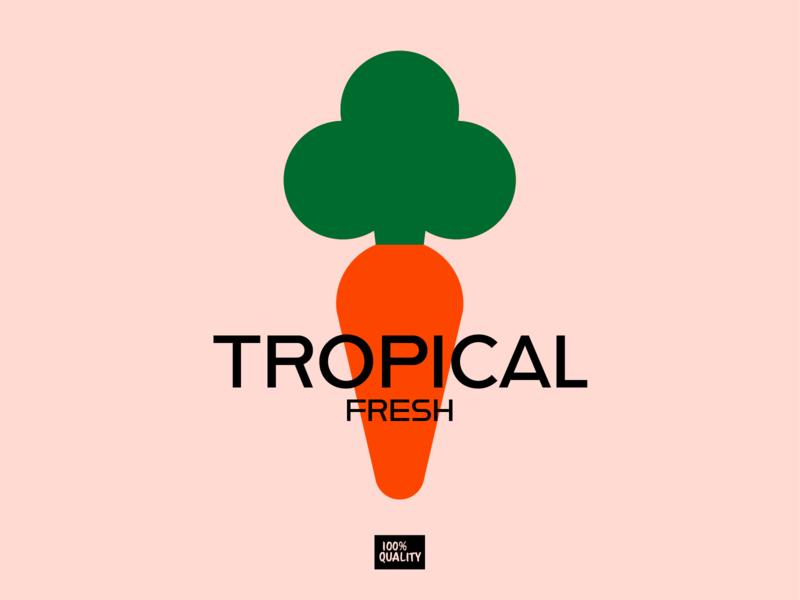 Tropical Fresh brand eat food tropical vegetables fresh