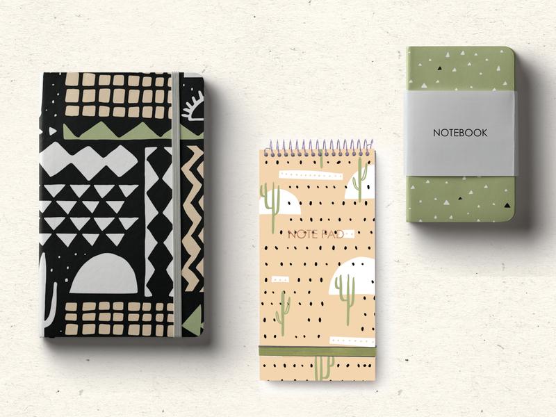 Modern Southwest Surface Pattern Design