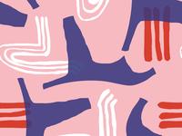 Modern New Wave | Seamless pattern