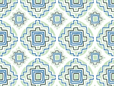 Geometric Circular Patterns No.3 | Seamless Pattern