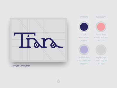 Tiara Style Guide Colors And Construction