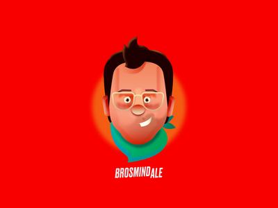 DOMESTIKART - BROSMIND ALE branding icon ux ui design graphicdesign design. illustratiom arts illustration