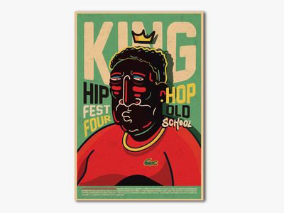 Mr King hip hop old school design. graffitti graffiti digital graphic lettering graphicdesign logo vector branding typography illustratiom design illustration art director design art arts creative illustration