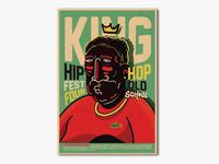 Mr King hip hop old school