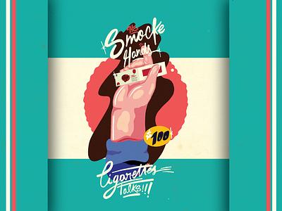 smoke hands graffitti adobe vector logo design packing graphicdesign design. branding typography illustratiom lettering illustration art director design art arts creative illustration