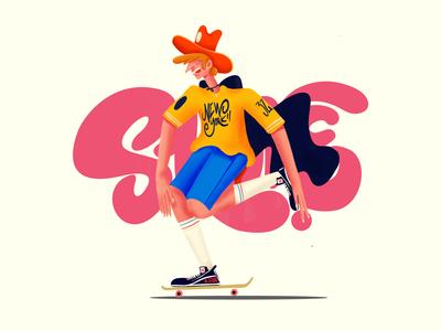 The Magic Shoes Skate Move