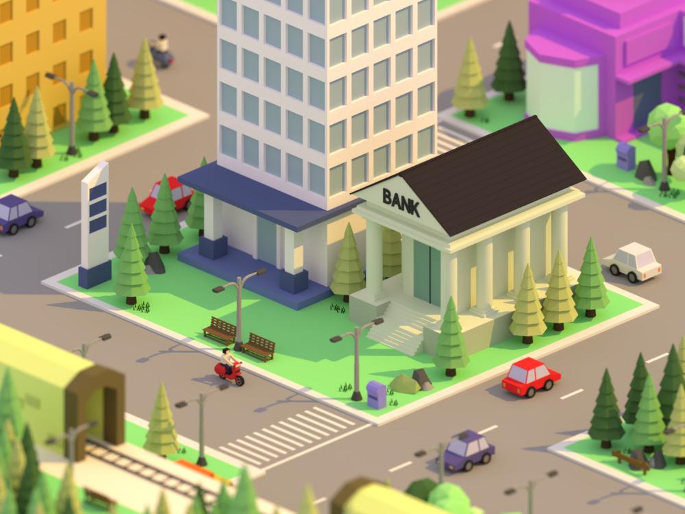 Miniture City Art Project