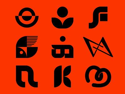 Logos 2 fish logo v a f m k fish logo design icon music design logo brand branding