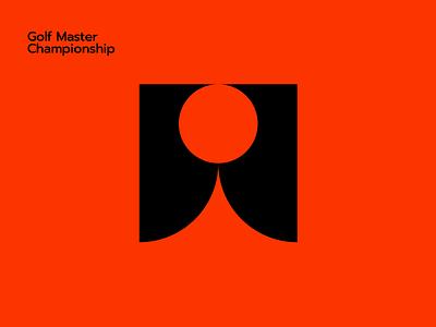 Golf Master Championship design logo design app ui vector brand branding sports logo logo sport golf