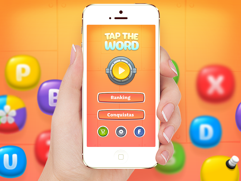 iOS Game ios game word play letter facebook store config tap hand app store itunes