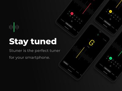 Stuner ios android app acoustic guitar ukulele guitar instrument music tuner
