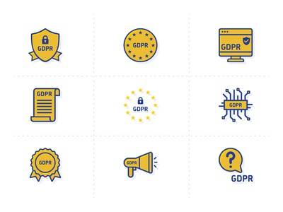 Free GDPR Vector Icons