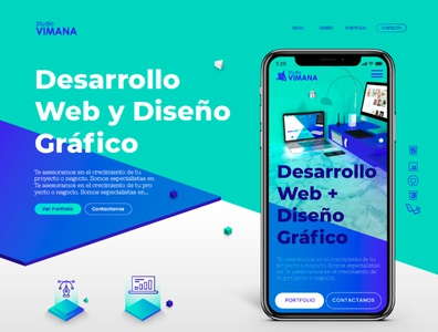 Design website UI/UX • VimanaStudio