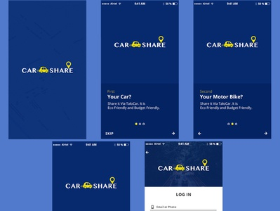 Mobile App - Car Sharing
