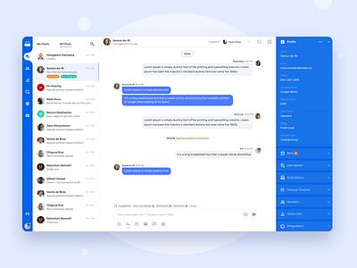 Hippo - Live Chat Support System sketch design website uiux web app