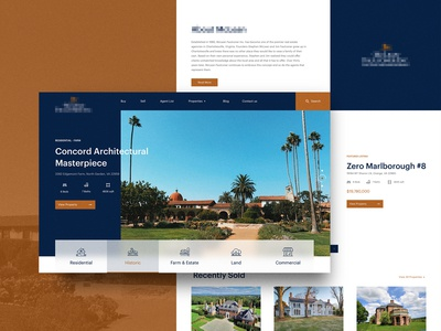 Luxury Realestate - Concept website