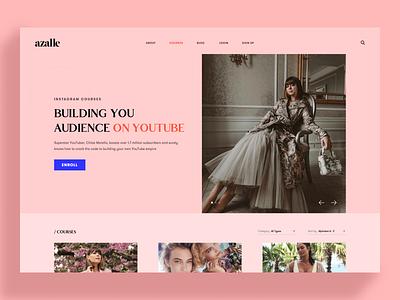 Azalle landingpage website design
