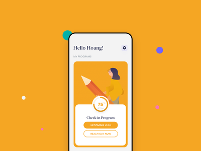Learning App-concept app ios illustration design ux ui