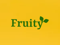 A fruit shop logo