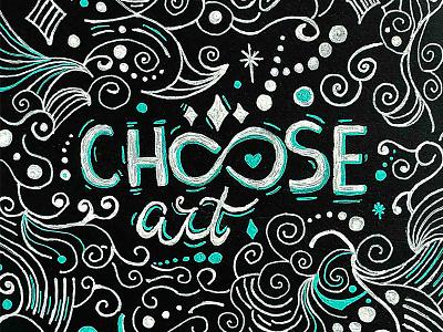 Choose art handmade artist choose handlettering lettering illustration design @homsweethom homwork