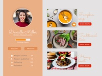 Daily UI #007 User Profile