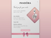 Daily UI #0017 Email Receipt
