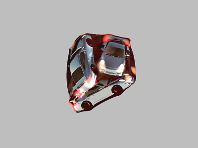 Porsche in a Bag - 2019 render supercars 3d graphics visualart cinema4d 3d cars porsche 911 porsche