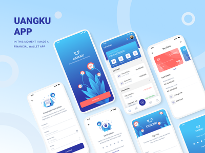 Financial Manager - Mobile App. bank app app app design mobile ui mobile design mobile app finance app financial fintech app fintech bangking app personal finance finances banking moneyapp investment finance aplication finance app ui