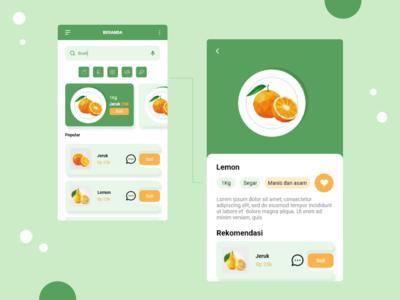Healthy market app