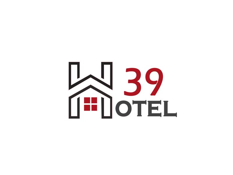 Hotel 39 vector app illustration design icon logo