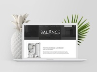 BALANCE - Landing Page