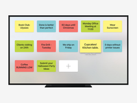 Ekranotes for the Apple TV