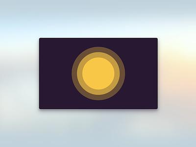 Orbit Clock Apple TV Icon icon apple tv orbit sun planet space