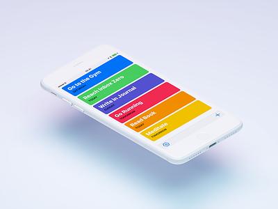 Habitat 4 iphone ios app track habit