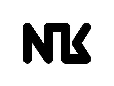 NK Monogram Logo monogram logo