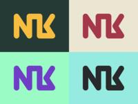 NK Logo Color Variations