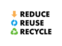 Reduce, Reuse, Recycle - Earth Day