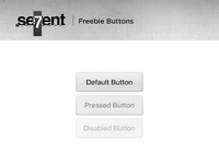 Sevent Buttons (free psd)