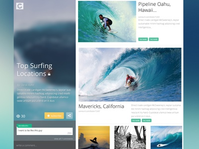 Clipular: Collection view chat responsive magazine layout publish