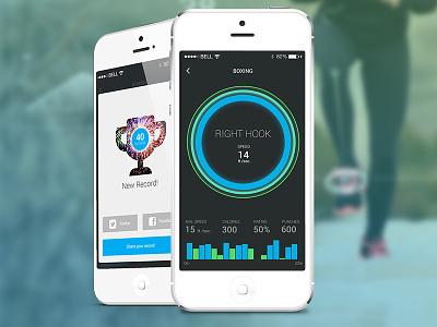 Moov Fitness Tracker ios moov fitness mobile app share