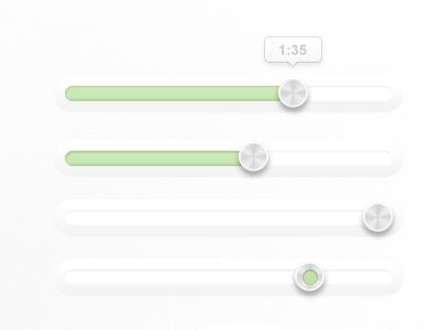 Shiny Sliders slider user interface web resource design