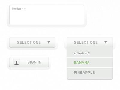 Shiny UI 4 select textarea user interface music player