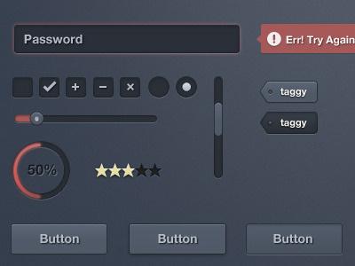 Fogcity User Interface ui interface tags freebie