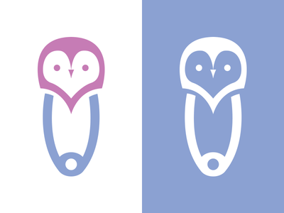 Logo for baby nappies brand