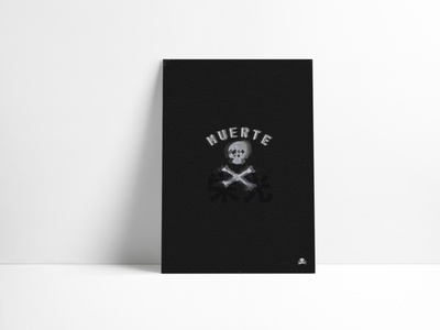 Muerte o Gloria typography vector theclash questioneverything punkrock design