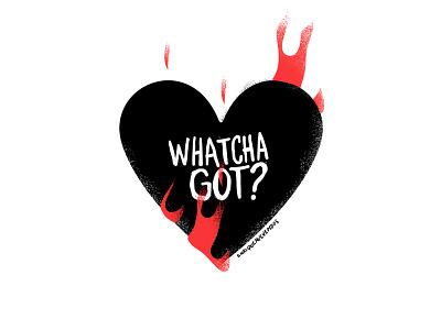 whatcha got? texture vector stickers questioneverything punk illustration punkrock design